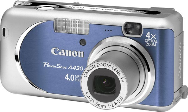 Canon PowerShot A430 Digital Camera Review