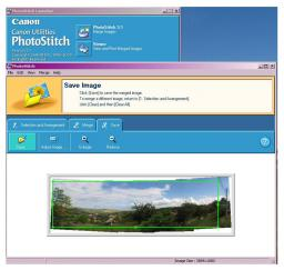Working with Photostitch