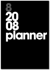 The Foto8 Planner for 2008