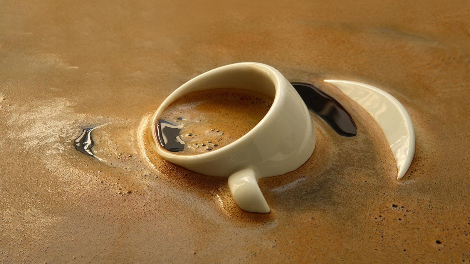 How To Photograph A Hot Steaming Cup Of Coffee... Or Tea