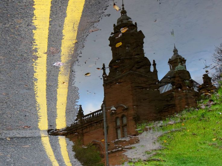 how to make a puddle reflection in photoshop